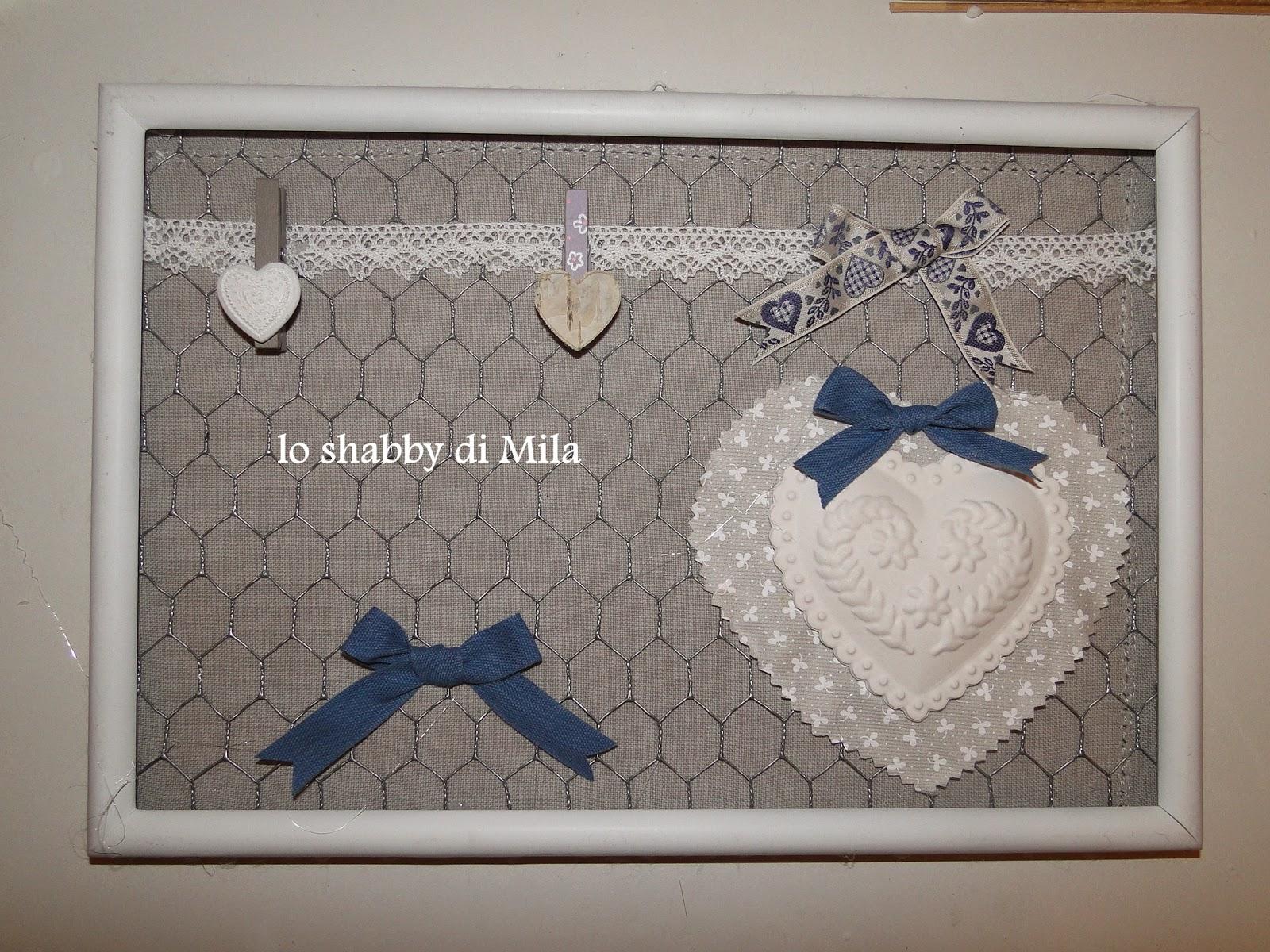 lo shabby di Mila: Riciclo di vecchie cornici