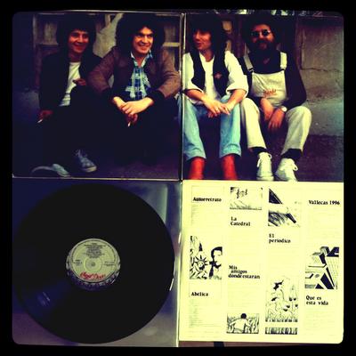 Topo – Topo (1979) Interior, Disco e Inserto con las letras