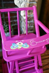 Malowanie krzesełka dziecięcego DS Meryk
