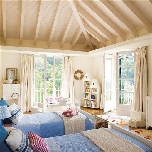 Decoraci n de interiores y exteriores habitaciones - Casa diez dormitorios ...