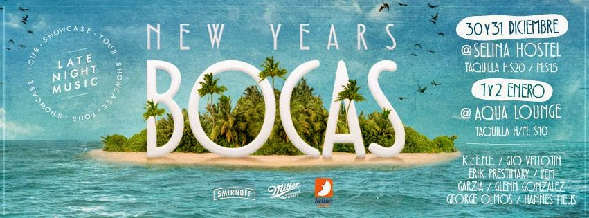 Late Night Music - Bocas New Year