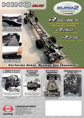 Spesifikasi dan Harga Chasis HINO R 235 / R 260