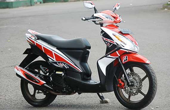Gambar Gaya Modifikasi Yamaha Xeon 125 title=