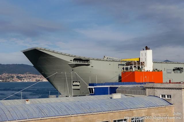 hmas adelaide, blue marlin, dockwise, vigo, sector naval, fotos de barcos