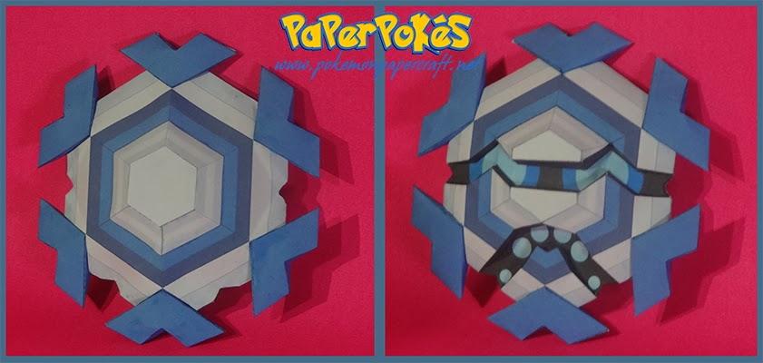 Pokemon Cryogonal Paper Model