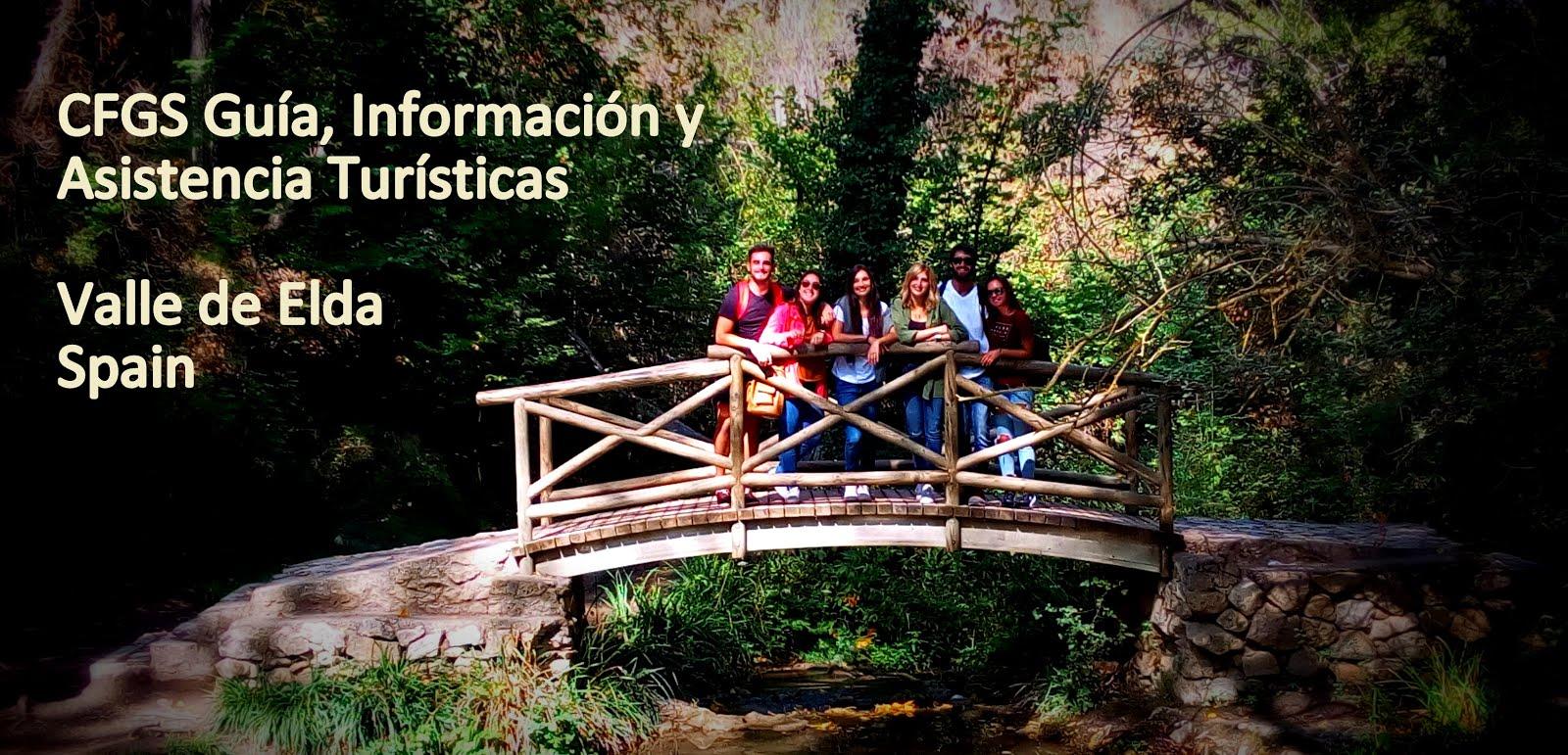 Actividades de l@s alumn@s del Ciclo Formativo Superior  Guía, Información y Asistencia Turísticas