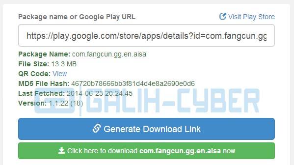Cara Download File APK di Google Play dari PC Tanpa Software
