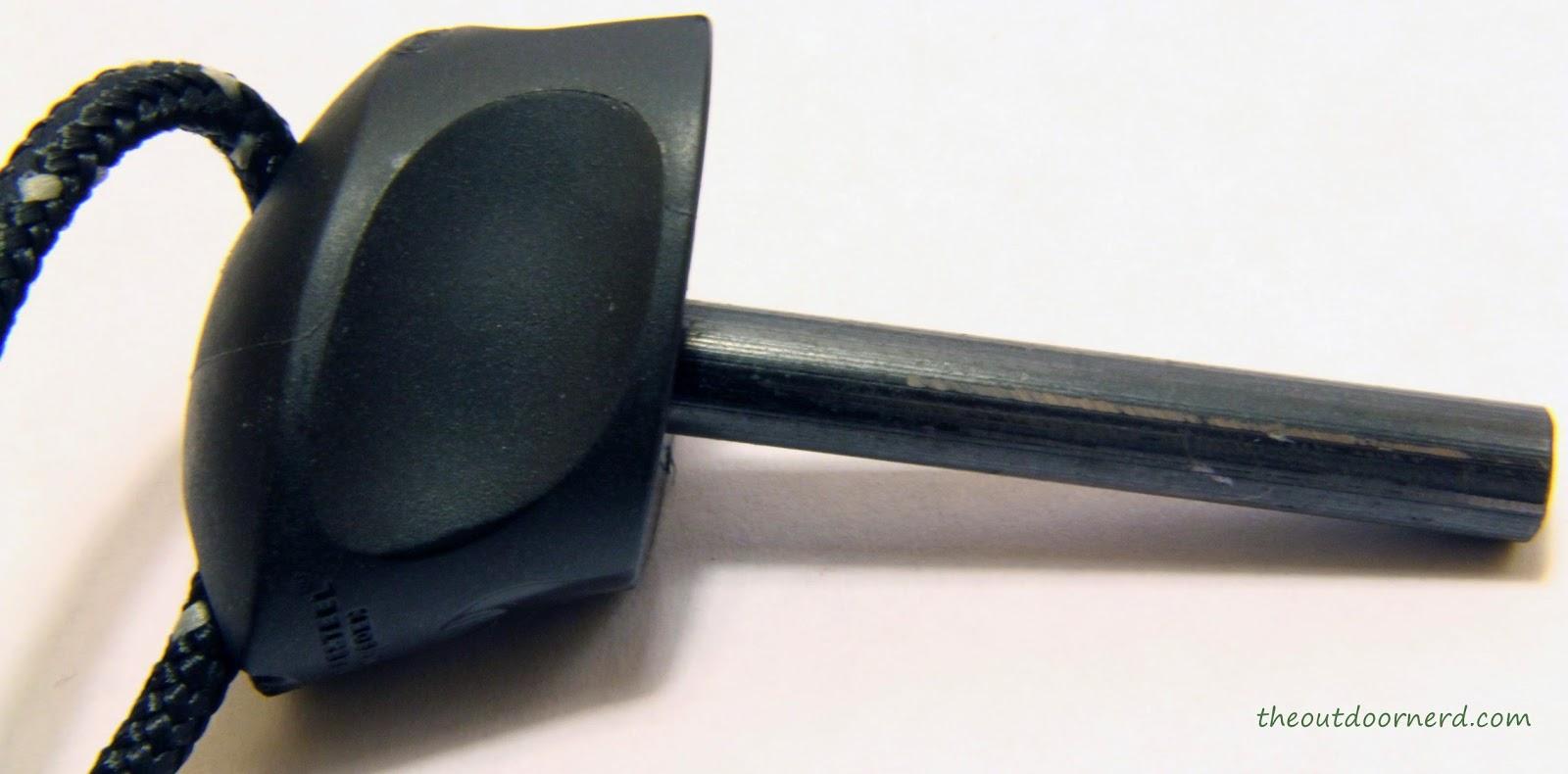 Light My Fire Swedish FireKnife: Closeup Of FireSteel Itself