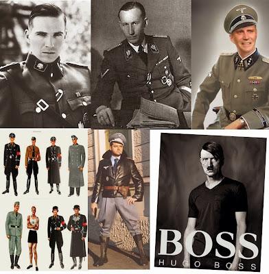 Hugo Boss Moda militar nazi