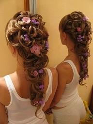 little girls hairdos halloween