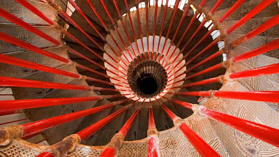 Spiral staircase, Ljubljana Castle, Ljubljana, Slovenia (© JTB Media Creation, Inc./Alamy) 471