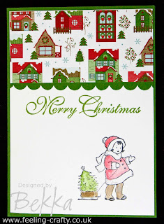 Greeting Card Kids Card by UK Stampin' Up! Demonstrator Bekka Prideaux - check out her blog for lots of great ideas
