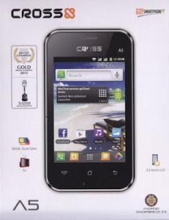 Cross A5, Hp Android Dual SIM Murah, Hanya 500 Ribuan