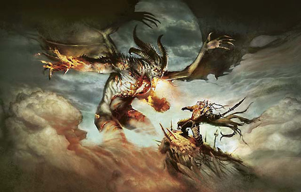 combat magic the gathering illustration