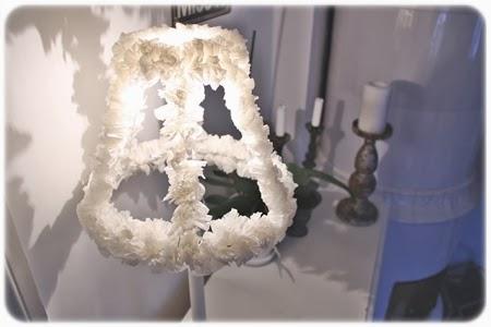 Bakformar lampa lampskärm