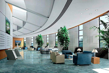 Interior Design For Office Bar And Restaurant