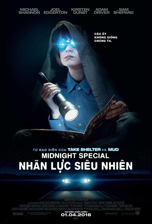 Nhãn Lực Siêu Nhiên - Midnight Special (2016)