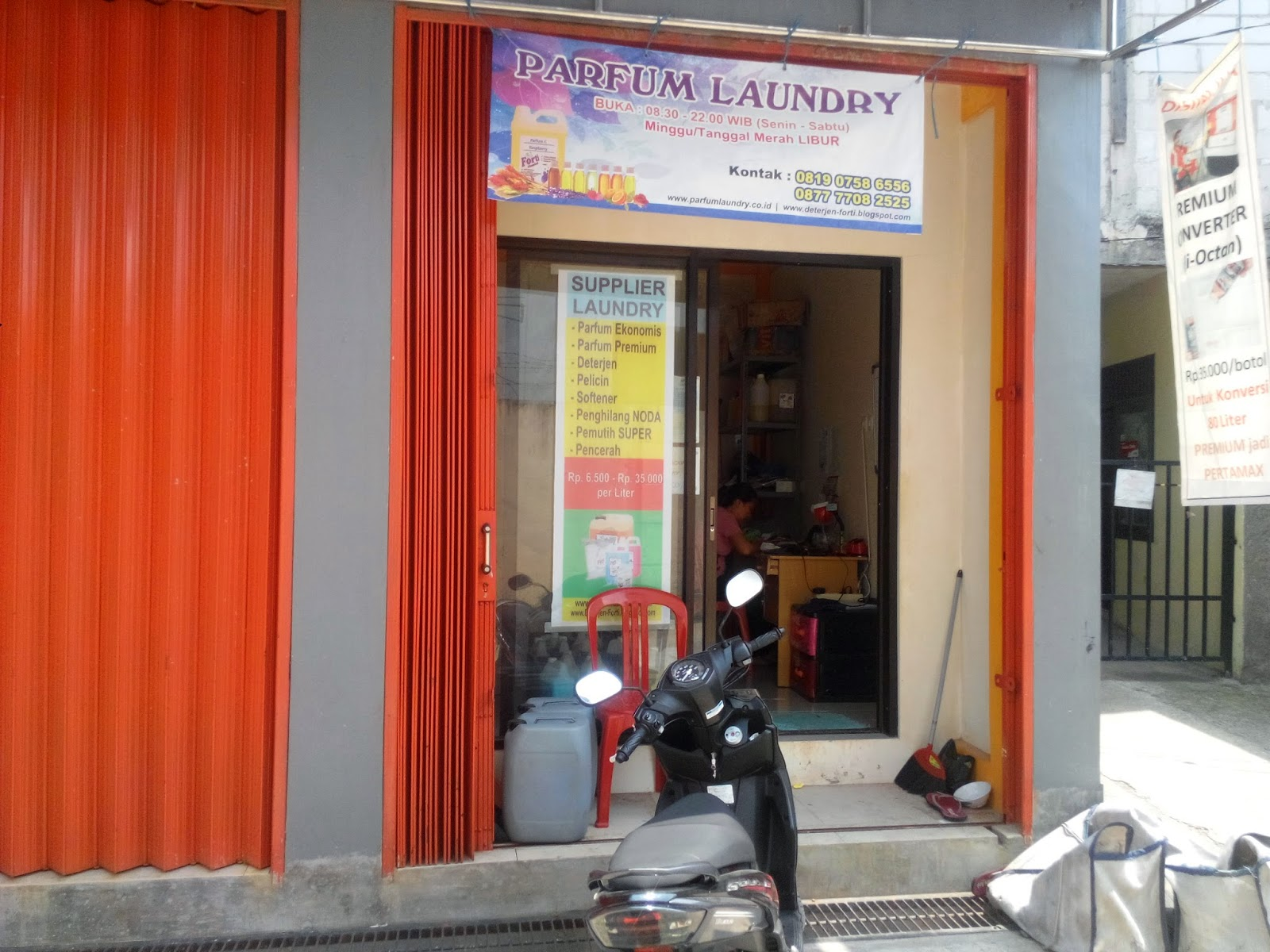 Alamat Supplier Parfum Laundry / Pewangi Laundry