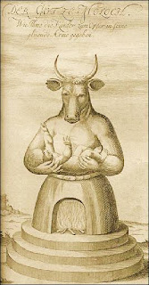 Moloch, Ammonite horned god
