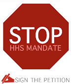 Stop HHS Mandate! Sign the Petition