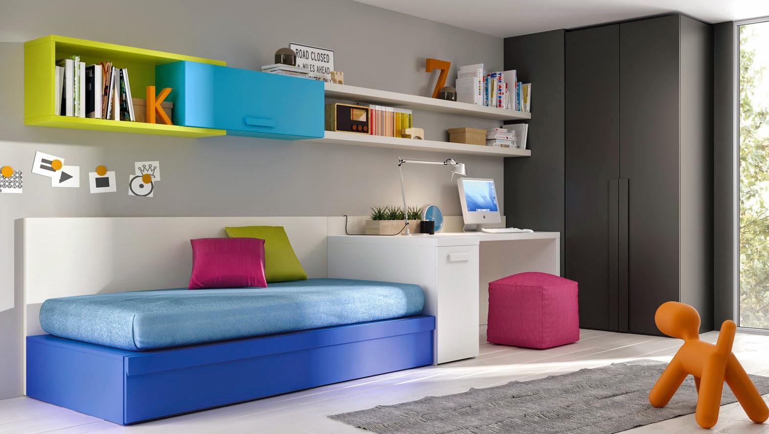 Juego dormitorio juvenil affordable madera baratos - Cuartos juveniles baratos ...