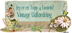 Top 4 Vintage utfordring # 37