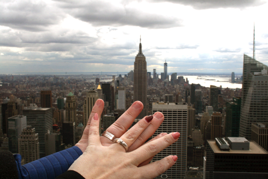 Wedding Ring Selfie Photo Tradition NYC