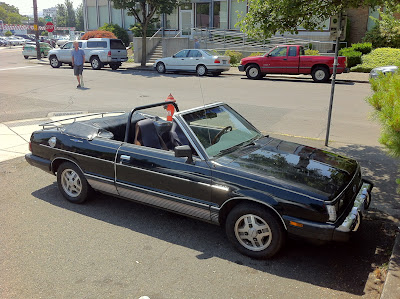 1983 Subaru GL10 convertible by Matrix.