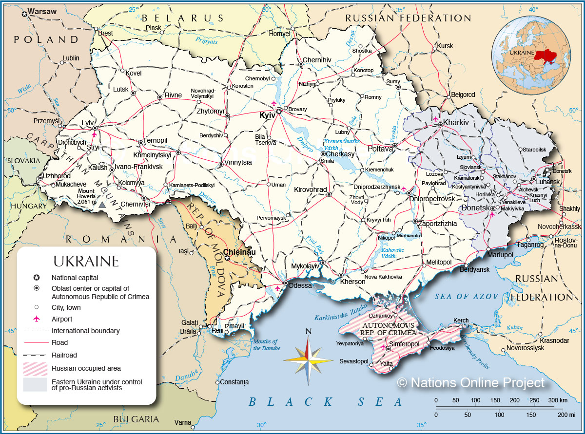 Page 2: Ukraine Map / Geography of Ukraine / Map of ...