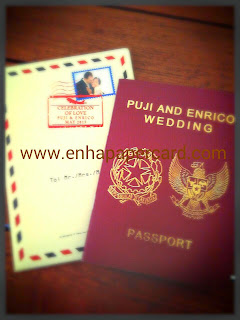 Wedding Passport ( enha - SC 092 )