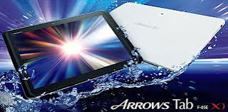 Fujitsu Arrows F-05E, Android tablet with HD display, NVIDIA Tegra 3 Quad Core