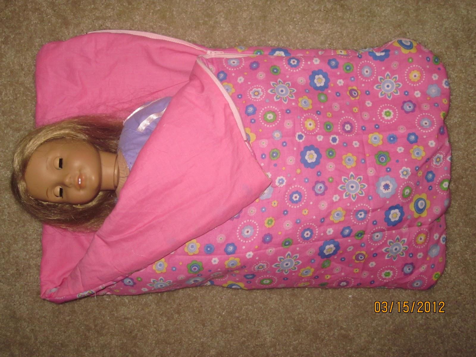 American Doll Sleeping Bag