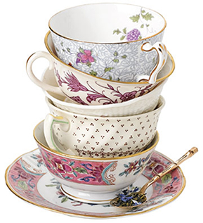 Tazas de tés