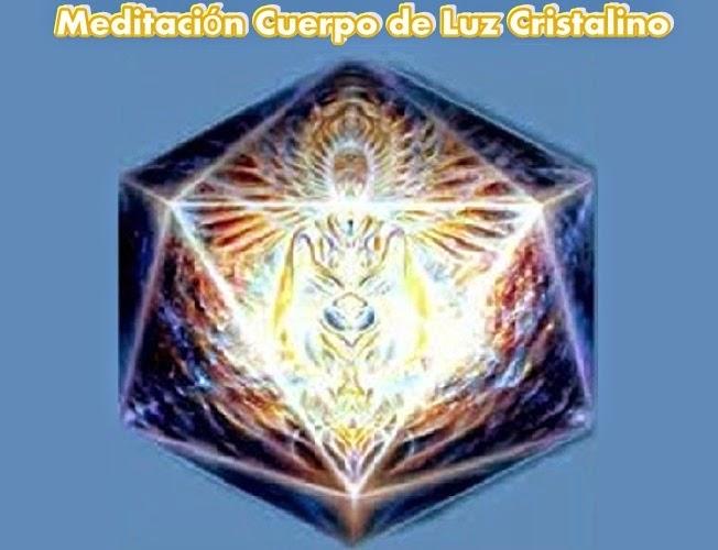 La siguiente es una Meditación de Apoyo y Promoción  en el Proceso de Transformación del Cuerpo a Cristal.