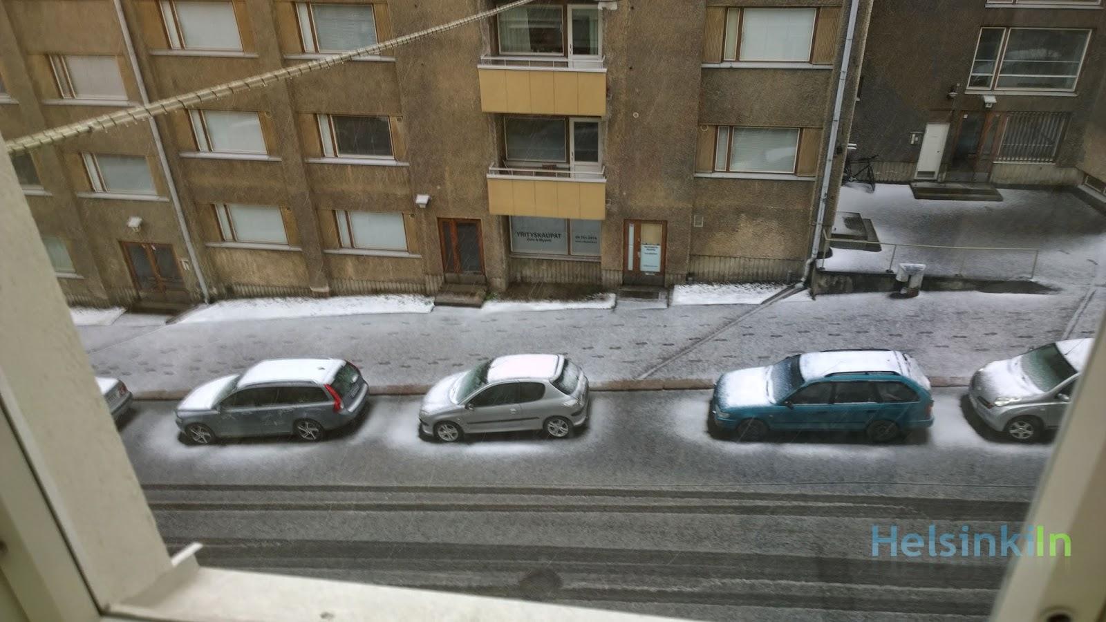white Helsinki in May