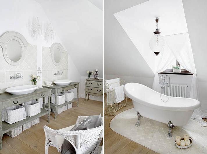 Bianco che passione shabby chic interiors for Piani di casa di 1600 piedi quadrati