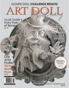 View Two Of Our Latest Works in ART DOLL QUARTERLY Fall 2011