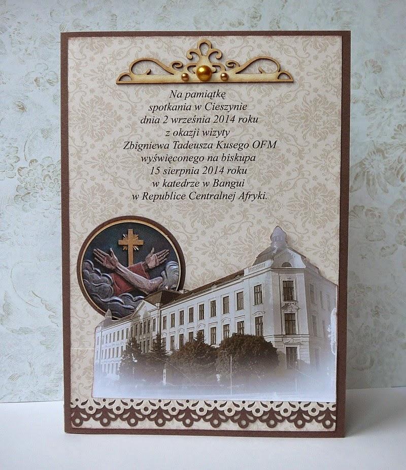dla Biskupa kartka