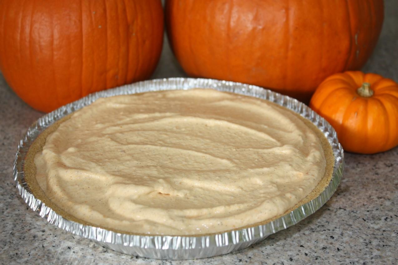 pass the peas, please: pumpkin ice cream pie