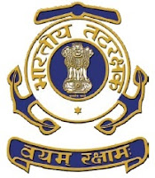 Indian Coast Guard Admit Card, Yantrik 2016 Batch, Admit Card, Indian Coast Guard, freejobalert, Sarkari Naukri, indian coast guard logo