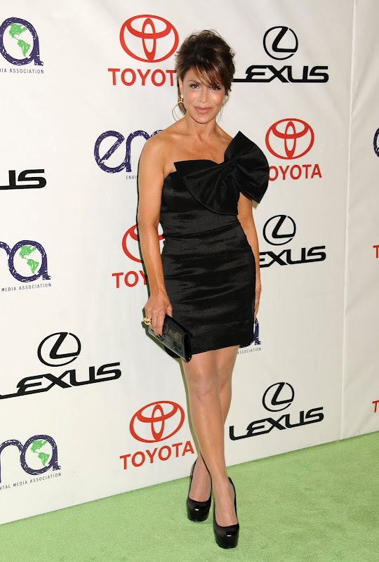 Paula Abdul at Environmental Media Awards 2012