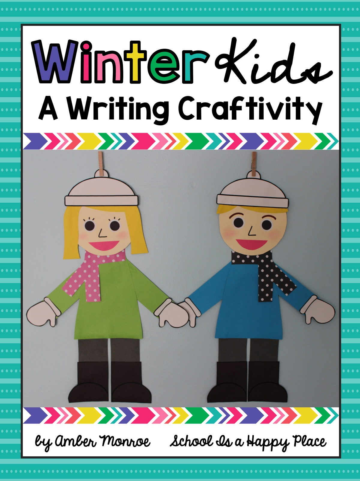 Winter Kids Writing Craftivity