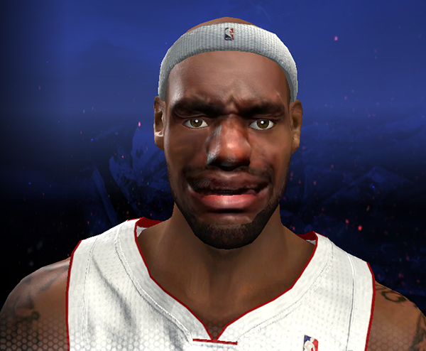 NBA 2K14 Funny LeBron James Bug Glitch
