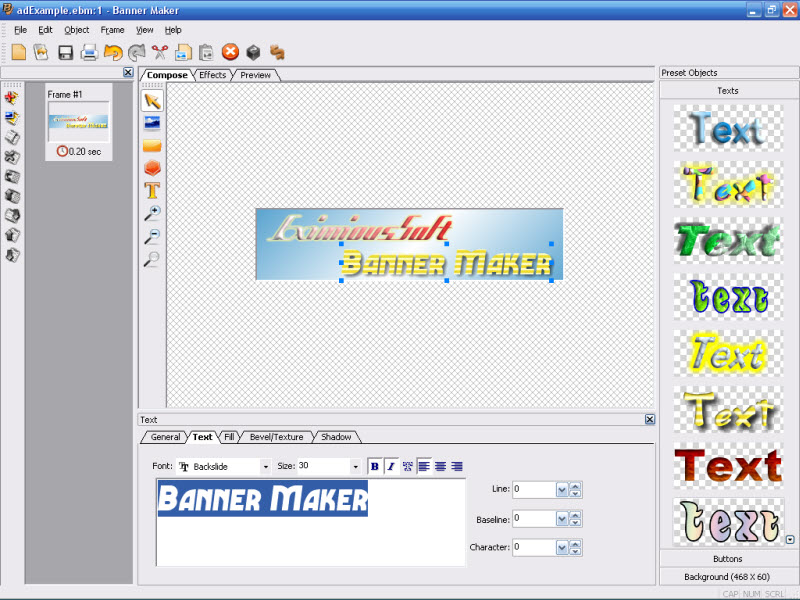 EximiousSoft Banner Maker 300 Download Software Full Free