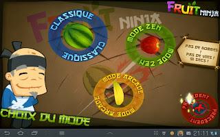 mode fruit ninja