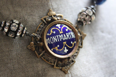 Montmartre France souvenir necklace pendant