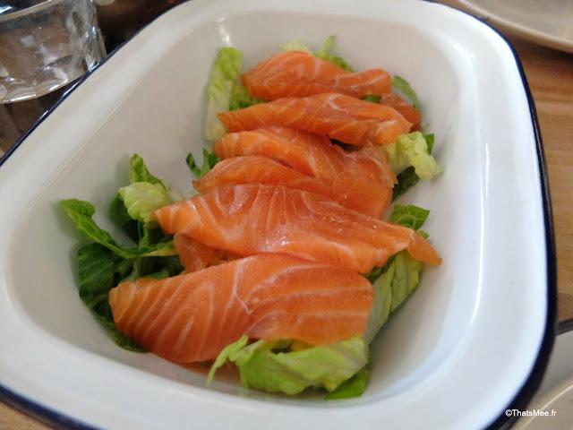 brunch saumon gravelax restaurant bar La Faille montorgueil paris