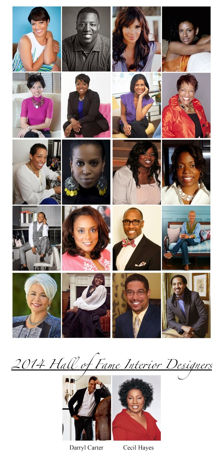 The 2014 African American Top 20 Interior Designers