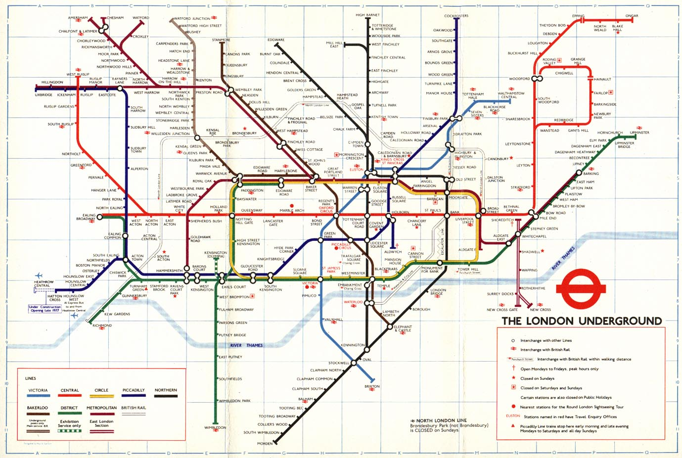 the london underground The london underground is by far the most popular way to travel around london if you are informed you can make money saving ticket purchasing decisions too.