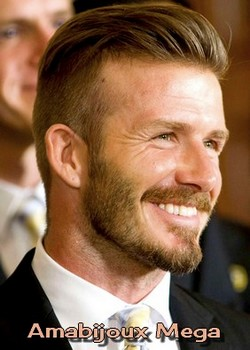 David Beckham - inglês, ex-jogador de futebol, adora estar na moda